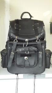 Motorcycle Leather Touring Bags