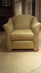 CHAIR PAIR, upholstered