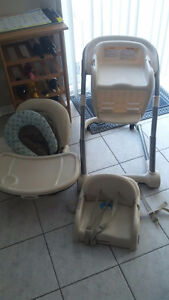 Graco Blossom 4-in-1 Adjustable High Chair, Booster Seat & More