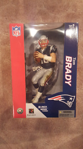 Tom Brady New England Patriots VERY RARE 12-inch McFarlane