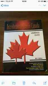 Introduction to Law in Canada -Laurence Olivo Kitchener / Waterloo Kitchener Area image 1
