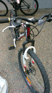 Xranked bicycle