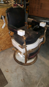 Old Barbers Chair
