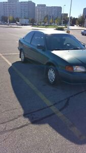1995 Toyota Tercel $950 OBO priced to sell