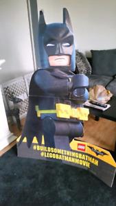 Batman cardboard cutout