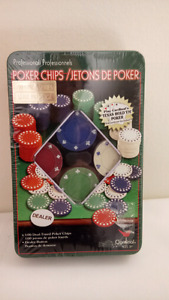 NEW in box Professional Poker Chips