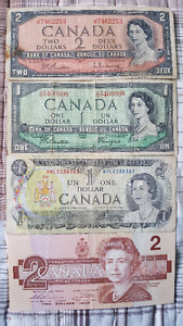 VINTAGE PAPER MONEY COLLECTION