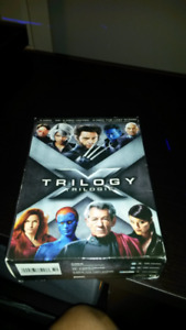 Xmen Trilogy DVDs