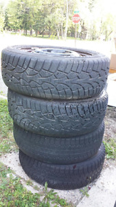 """Set of 14"""" tires with rims"""