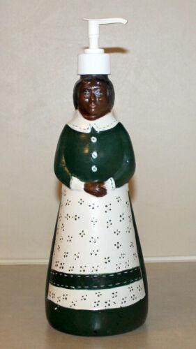 Vintage Mrs. Butterworth/Hand Painted Folk Art/Hand Soap/Syrup Bottle
