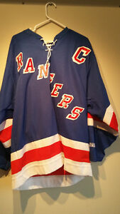 AUTOGRAPHED MARK MESSIER NEW YORK RANGERS JERSEY Cambridge Kitchener Area image 1