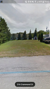 Mini home lot for rent at Crammond Crt