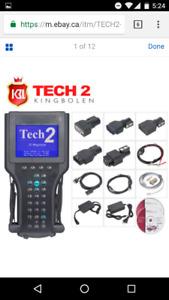 Tech2 scanner