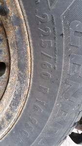 General Altimax Winter tires 225/60R16