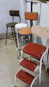 Wanted old metal stools London Ontario image 2