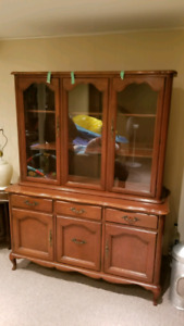 Gibbard Solid Mahogany Dinning set with Buffet