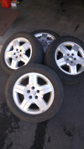 "17 "" Factory Alloy Dodge Rims"
