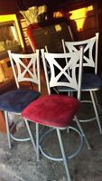 Set Of 3 Counter Height Stool Chairs