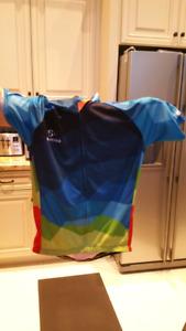 Men bike jersey set for sale size L