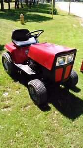 Lawnmower, 5 speed. Re-geared, fast.