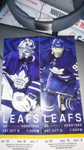 LEAF TICKETS SAT OCT 6 SAVE $$$ SECTION 110