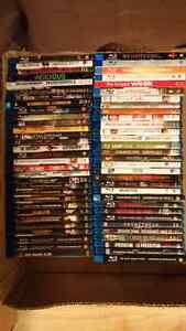 Blu-Rays (DVDs in other ads)
