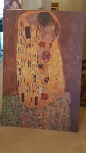 Klimt Poster - The Kiss