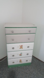 Chest drawers & cabinet