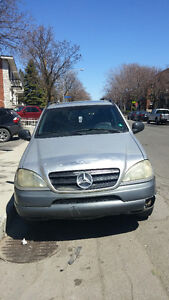 1998 Mercedes-Benz M-Class 320 SUV, Crossover