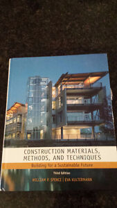 Construction Materials, Methods And Techniques: Building For A S