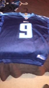 Steve McNair TITANS jersey