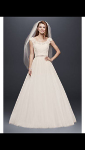Beautiful wedding dress never worn with tag still on
