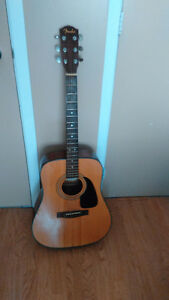 Fender Acoustic For Sale.