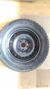 """Pneus d'hiver Toyo  - """"Observe GSI 5"""" 225/60R16   (sur roues)."""