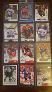 Connor McDavid hockey cards.