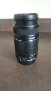 Canon 55-250mm zoom lens