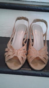 Heels from softmoc genuine leather size 38