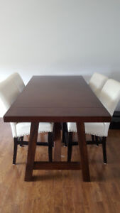 Beautiful Counter Height Dining Table