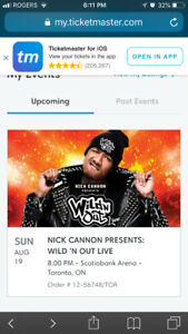 TICKETS: NICK CANNON WILD N' OUT.