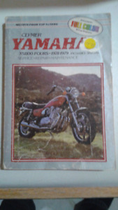 CLYMER 1978-1979 YAMAHA XS1100 FOURS MANUAL