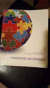 Perspectives on Strategy - COMM401 - U of S - Good Shape