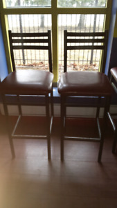 Used bar chair and steam table pans for sale