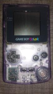 Atomic Purple Gameboy Color + Pokémon Yellow