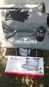 Portable barbeque Napoleon 'Freestyle' Stainless Steel propane