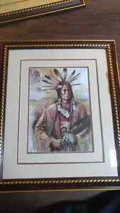 Indian pictures $125 for all 4  Peterborough Peterborough Area image 3