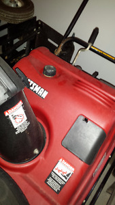 "For Sale: Craftsman 24"" gas powered snowblower"