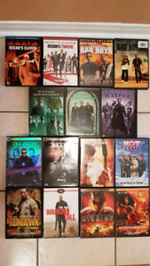 15 GREAT MOVIES. $12