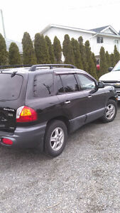 2004 Hyundai Santa Fe 4x4 Fully Loaded Hatchback