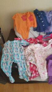 Little Girl's Used Clothing Lot - 18 to 24 Months- 50PCS - O.B.O