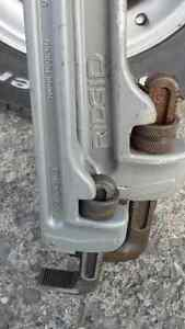 Rigid Aluminum Pipe Wrenches $300 pair $400 new.  24 Inch and 36
